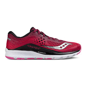 saucony Kinvara 8 Shoes Women Berry/Pink